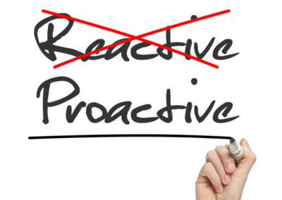 Proactive vs. Reactive Approaches to Business and Talent