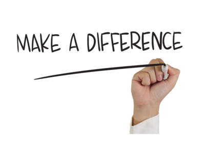 The Opportunity to Make a Difference